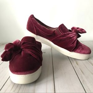 Libby Edelman Magenta Caitlyn Slip On Shoes Sz 9